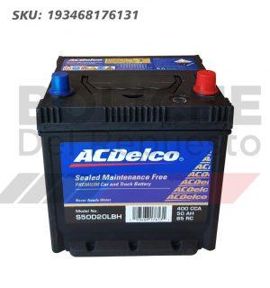 Bateria ACDelco S50D20LBHSMF 50AH CCA400 C/Pe