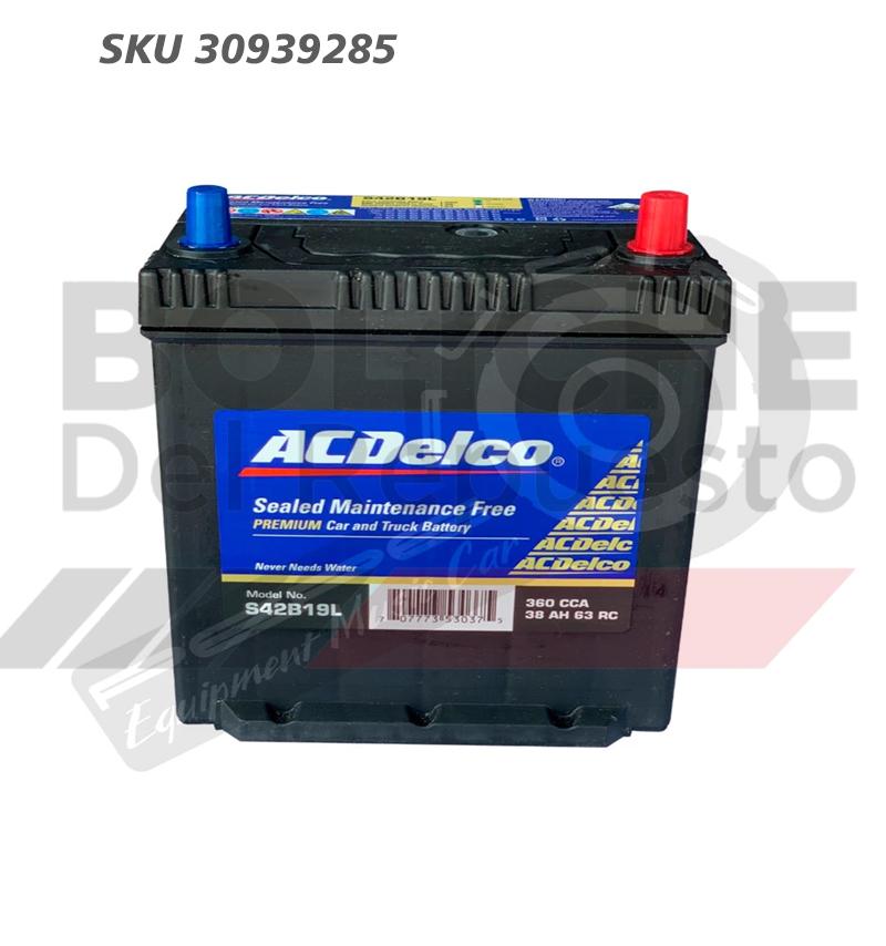 Bateria ACDelco 42B19L 38AH CCA360 (- +)