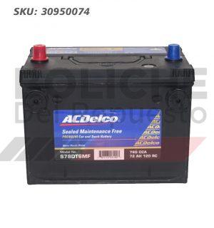 Bateria ACDelco S78DT6MF 72AH CCA760 (+ -)