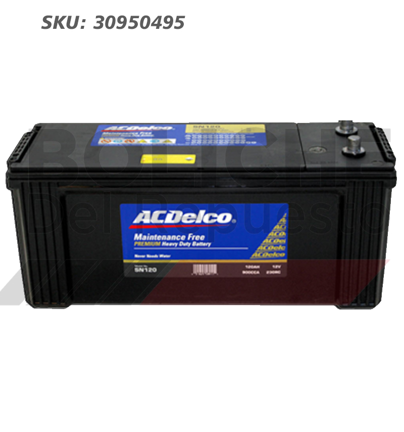 Bateria ACDelco N150 150AH CCA1000 (- +)