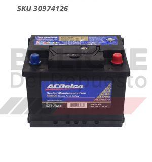 Bateria ACDelco 47-7 62AH CCA550 (- +)