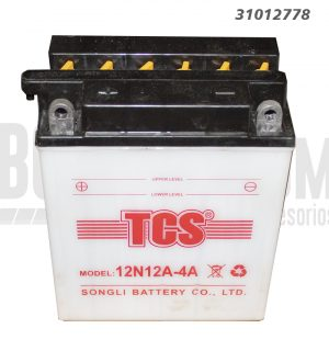 Bateria Moto TCS 12N12A-4-1 12 Amp