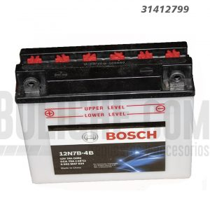 Bateria Moto Bosch 3912N7B-4B 12V 7Ah PI