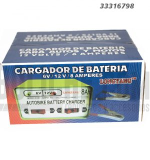 Cargador Bateria 6-12V 8A Deezer
