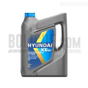 Aceite Hyundai XTEER Ultra RVC3 5W30 6LTS
